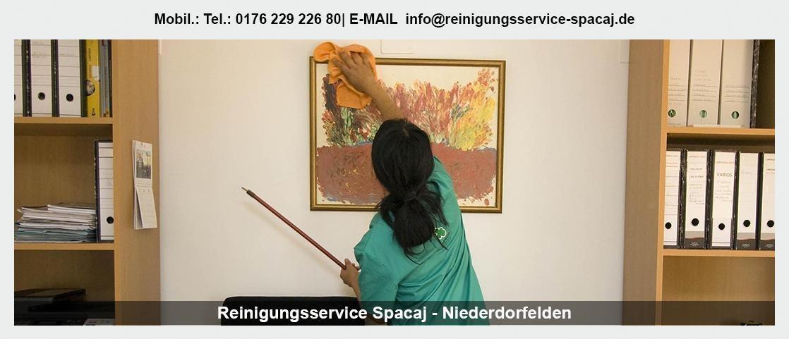 Gebäudereinigung Hausen (Aschaffenburg) - Reinigungsservice Spacaj: Unterhaltsreinigung, Glasreinigung