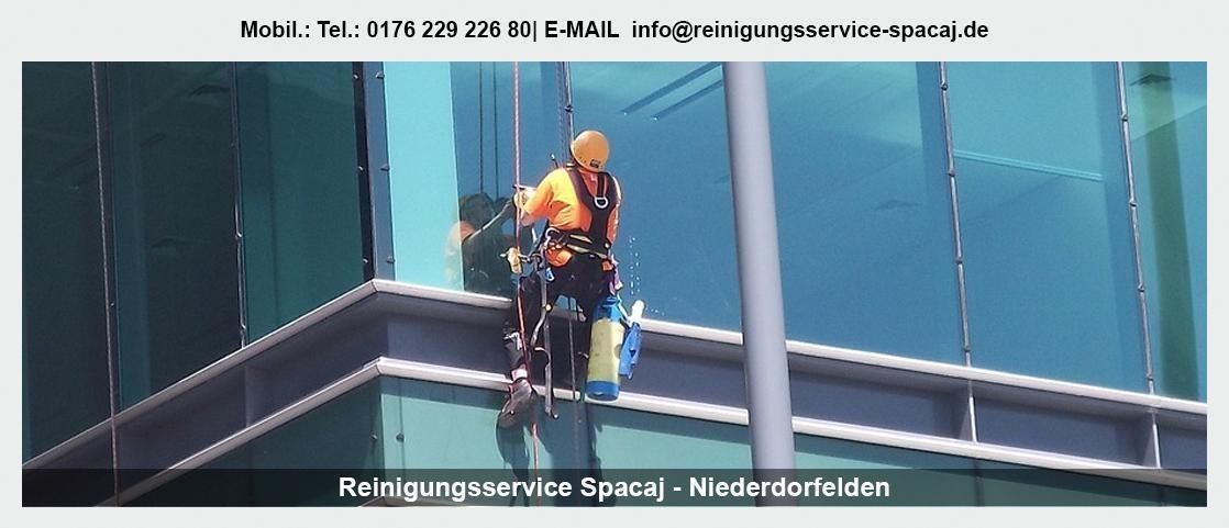 Gebäudereinigung Roßdorf - Reinigungsservice Spacaj: Unterhaltsreinigung, Büroreinigung