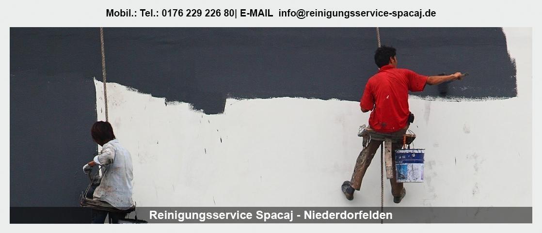 Gebäudereinigung Ginsheim-Gustavsburg - Reinigungsservice Spacaj: Unterhaltsreinigung, Bauendreinigung