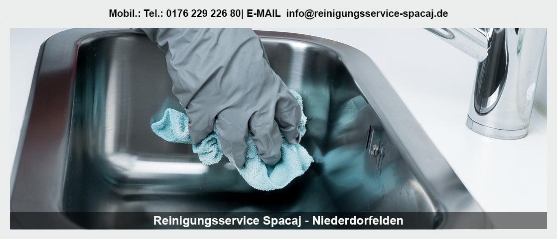Gebäudereinigung Mühlheim (Main) - Reinigungsservice Spacaj: Unterhaltsreinigung, Bauendreinigung
